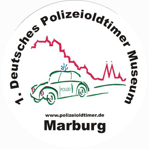Logo des 1. Deutschen Polizeioldtimer Museums Marburg
