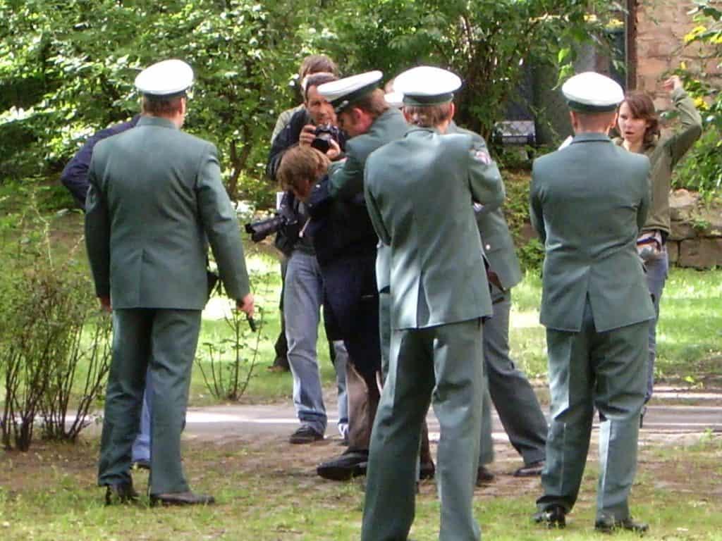 Die Festnahme von Andreas Baader