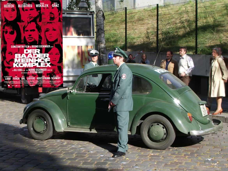 """Der Kinofilm """"Baader-Meinhof-Komplex"""" mit Polizeioldies aus Marburg"""