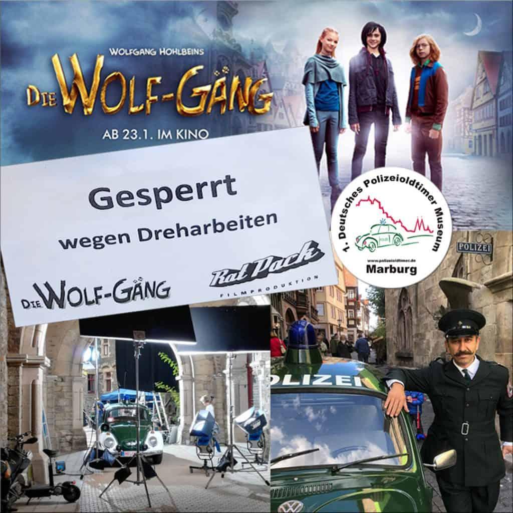 """Der Fantasy-Film """"Die Wolf-Gäng"""" zeigt einen Marburger Polizeioldie"""