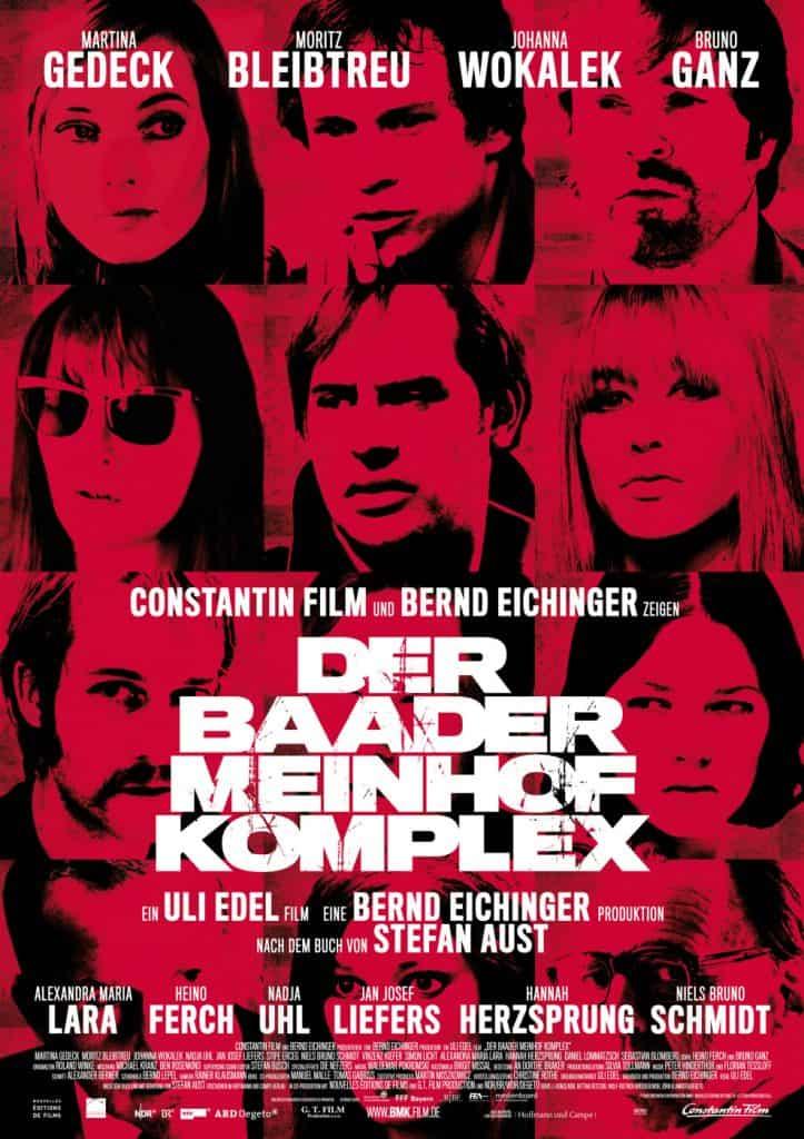 """Kinoplakat zum Film  """"Der Baader-Meinhof-Komplex"""