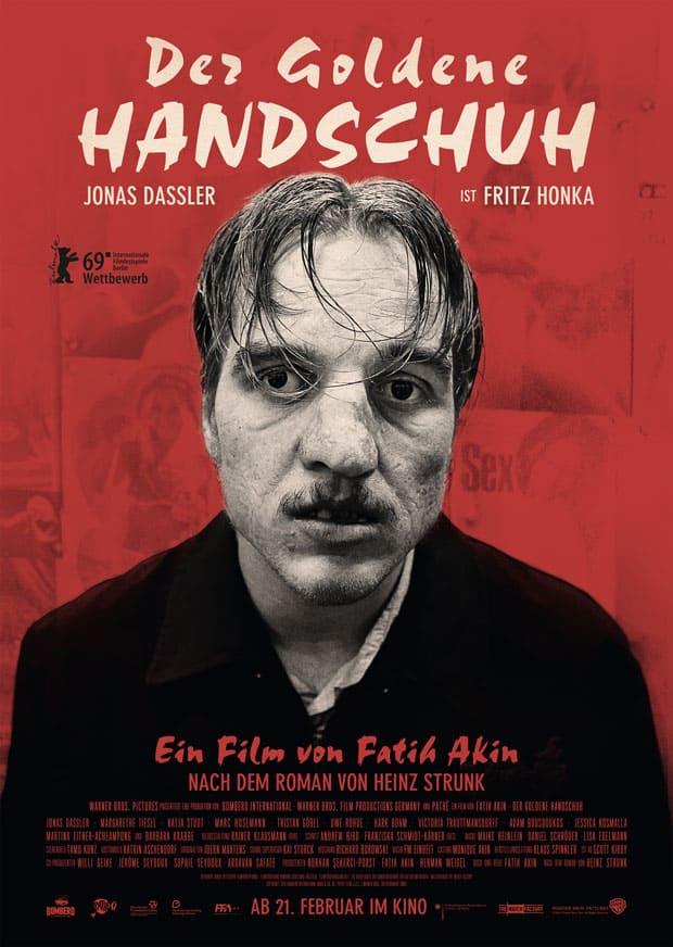 Filmplakat: Der Goldene Handschuh (Verleih/Vertrieb: Warner Bros. Pictures Germany)
