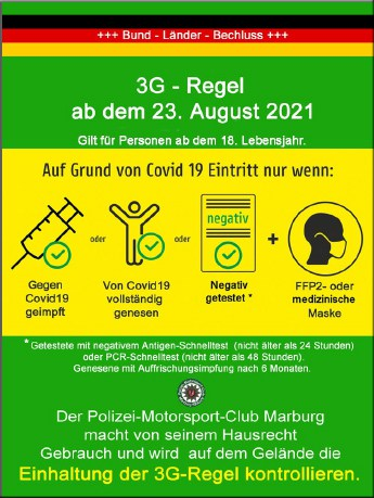 Im Polizeioldtimer Museum Marburg gilt die 3G-Regel