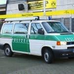 Bundesligaerfahrender Neuzugang im Polizeioldtimer Museum